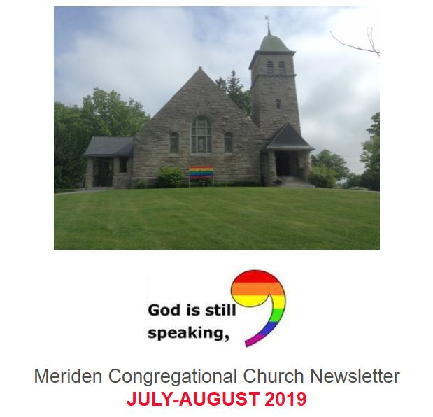 July-August 2019 Newsletter